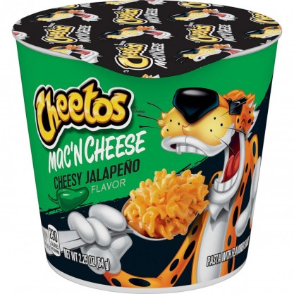Cheetos Mac & Cheese s Cheesy Jalapeno 12x64g