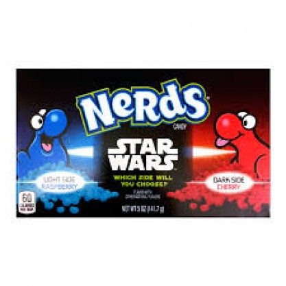 Nerds Star Wars Raspberry & Cherry 12x142gr