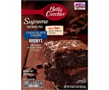 Betty Crocker Chocolate Chunk Brownie