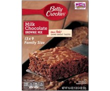 Betty Crocker Milk Chocolate Brownie 12x