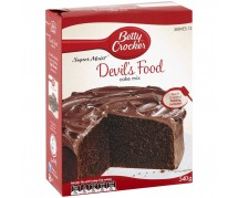 Betty Crocker Devil's Food Cake Mix 6x425g