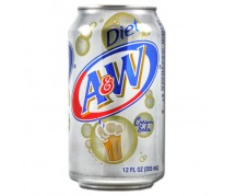 A&W Cream Soda, Diet 24x355ml