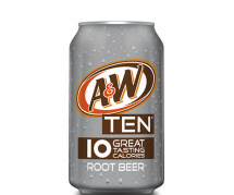 A&W Root Beer Ten 24x355ml