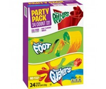 Betty Crocker Variety Pack, Fruit Fusion (8 Pouches) 12x149gr