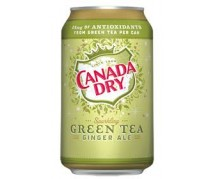 Canada Dry Green Tea Ginger Ale 24x355ml