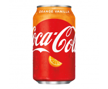 Coca Cola Vanilla Orange 24x355ml (BEST BY 03-2020)
