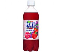 Fanta Yokubari - Mix Double Mix Berry 24x490ml