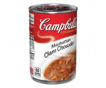 Cambell's Clam Chowder Soup 12x305gr