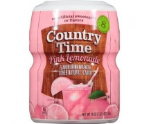 Country Time  Pink Lemonade Drink Mix 12x538gr