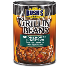 BUSH'S Smokehouse Tradition Grillin' Beans 12x624gr