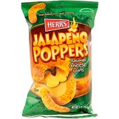 Herr's Jalapeno Poppers Cheese Curls 12x199gr